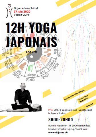 Les 12h du Yoga Japonais