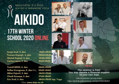 """17th International Winter Seminar ONLINE, 5th December, """"from Neuchâtel and all Europe"""""""