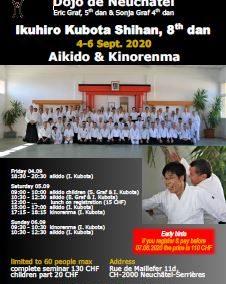 Special seminar with Ikuhiro Kubota Shihan, 2-10.09