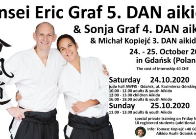 Aikido Seminar, Danzig (Polen), 24.-25. Oktober – Abgesagt