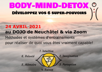 Body-Mind-Detox, 24 avril