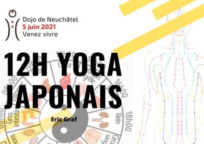 12h yoga japonais, Neuchâtel, 5 juin