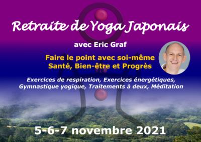 Retraite Yoga Japonais et Méditation, Rüti bei Riggisberg, 5-7 Novembre