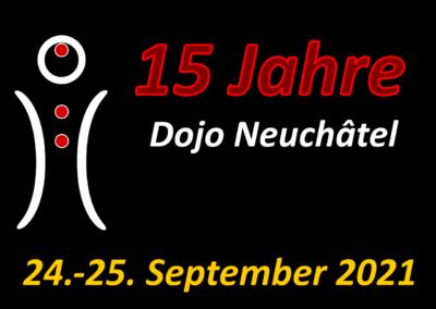 15-jähriges Jubiläum des Neuchâtel Dojo