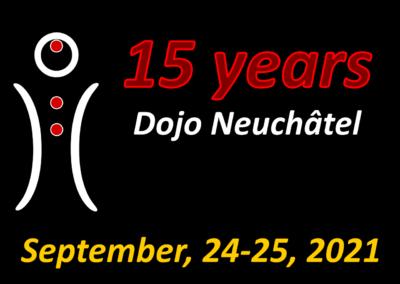 15 years jubilee Dojo of Neuchâtel