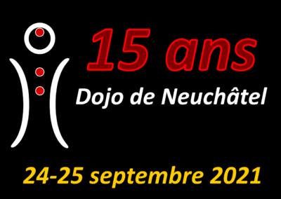Jubilé des 15 ans Dojo de Neuchâtel