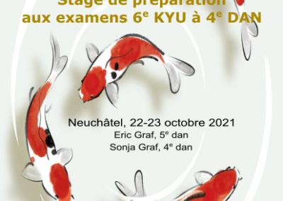 Stage Préparation Examens Kyus/Dans, Neuchâtel, 22-23.10.2021